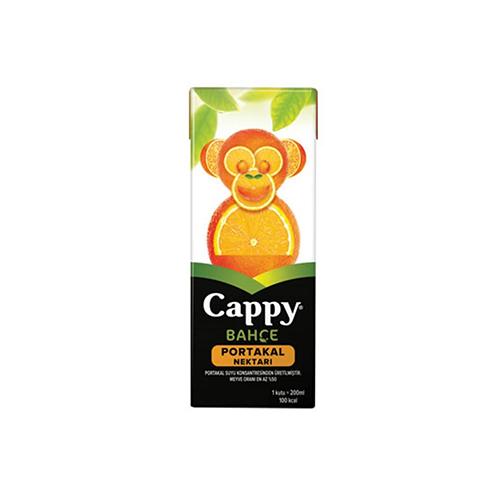 Cappy orange juice