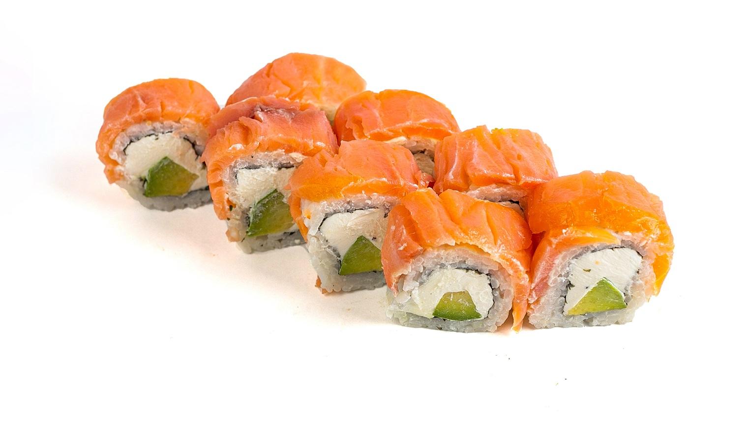 Philadelphia Sushi Roll Special