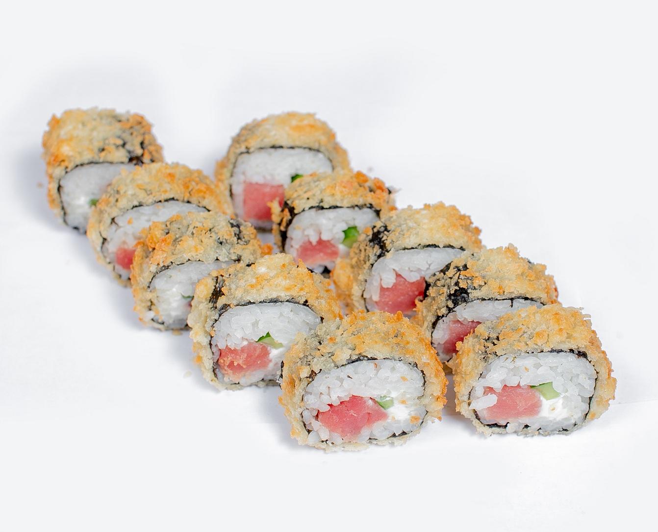 sushi with tuna fish
