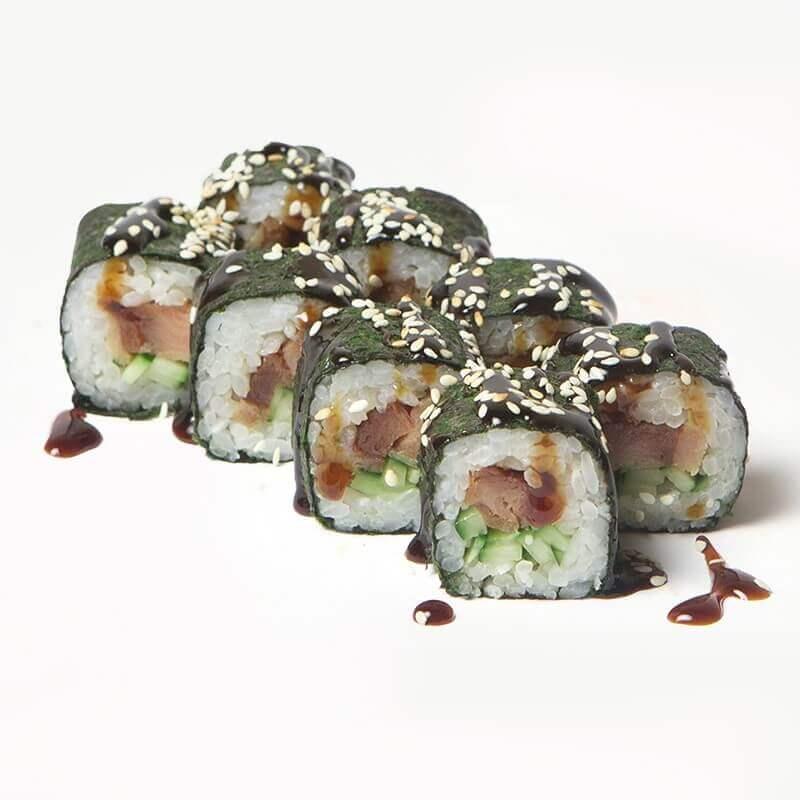maki with smoked eel