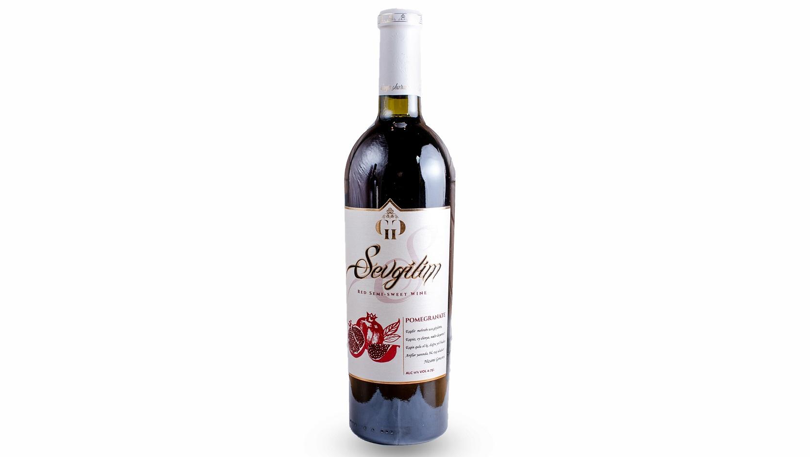 Sevgilim Pomegranate Wine