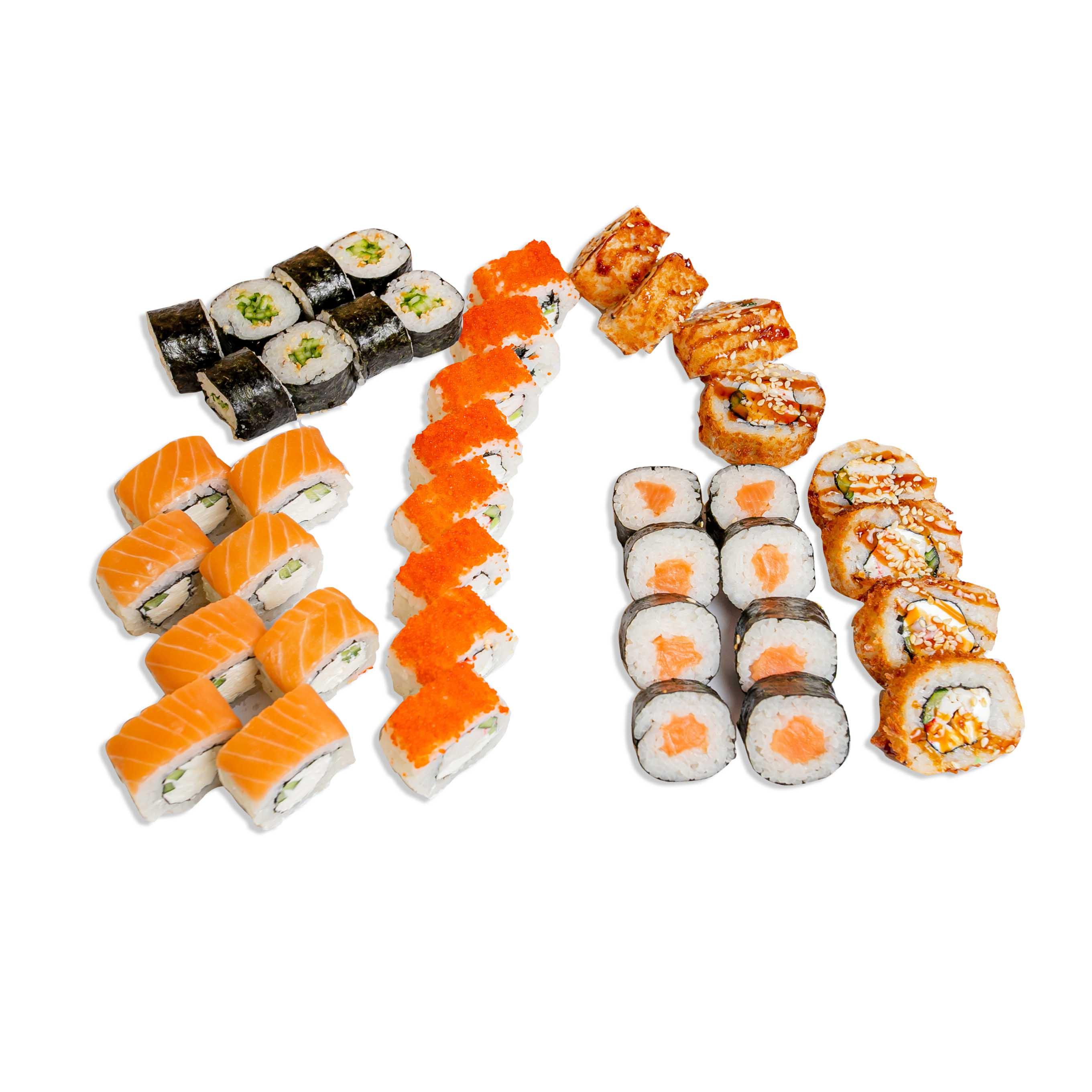 Tempura Sushi Set