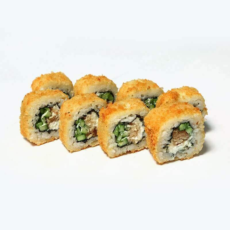 unaqi hot roll with eel