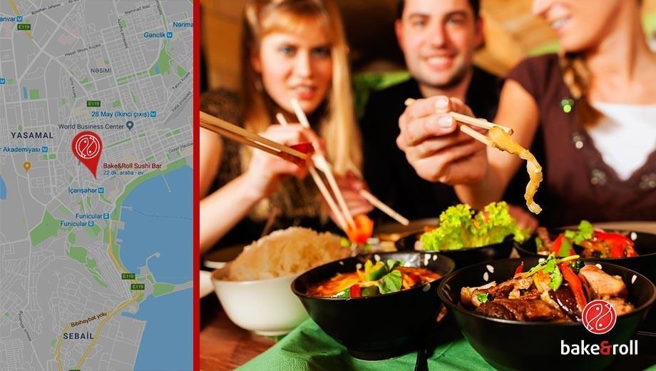 Bakida ən məsləhətli sushi restoranı