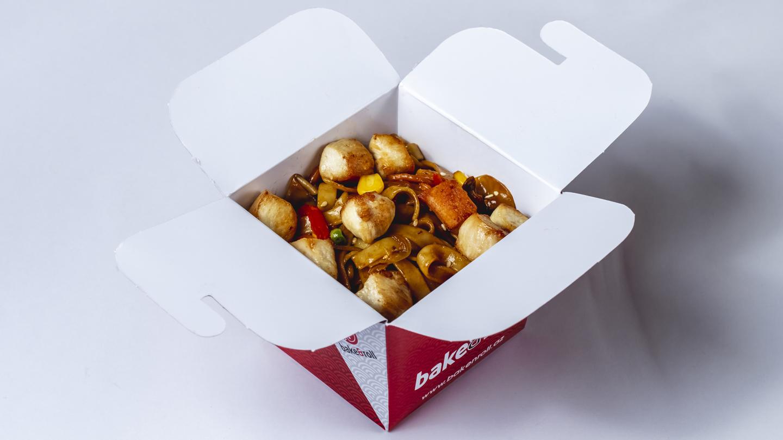 Toyuqlu əriştə noodles