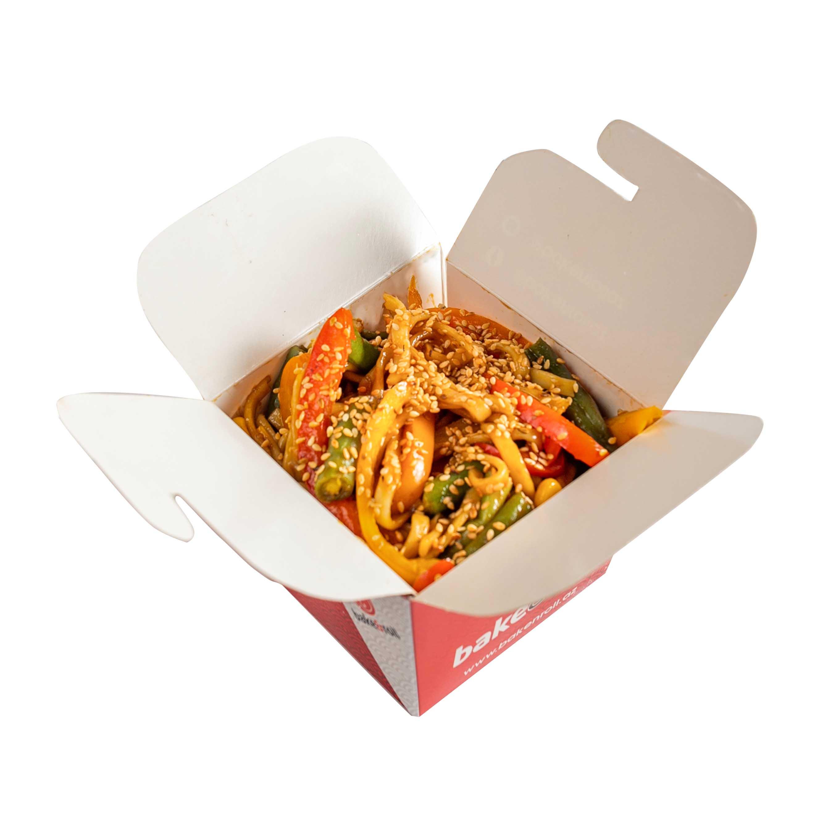 Tərəvəzli Noodles