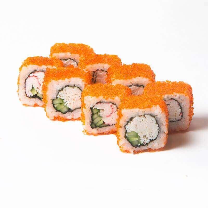 Kaliforniya Krablı Sushi Roll