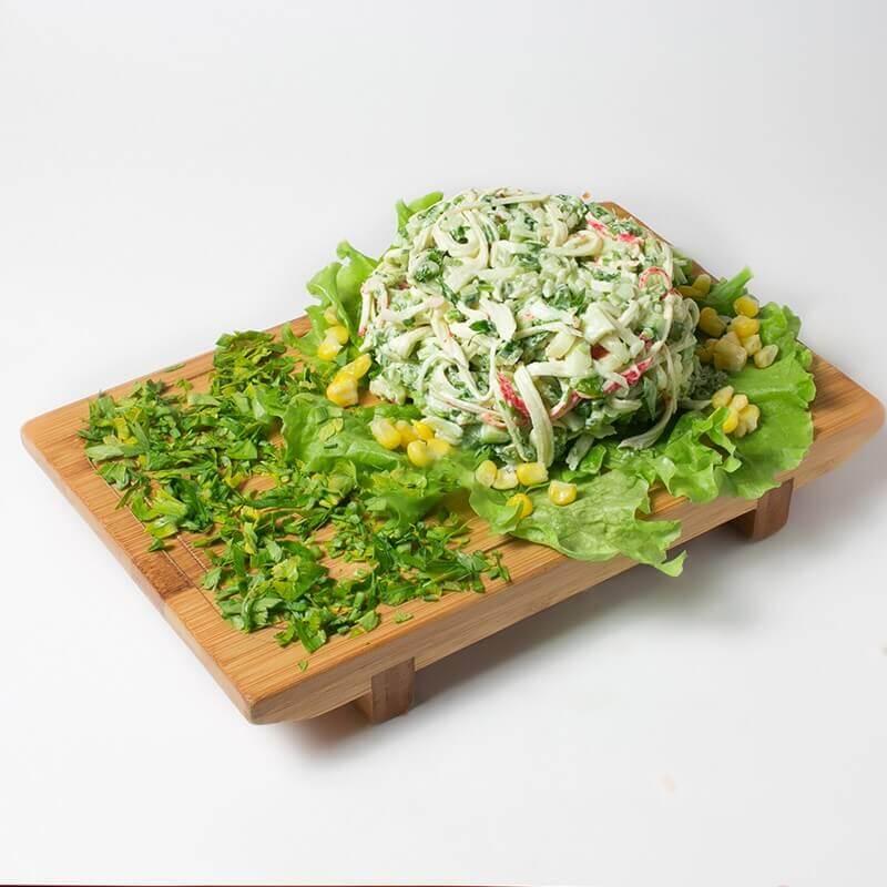 krablı salat