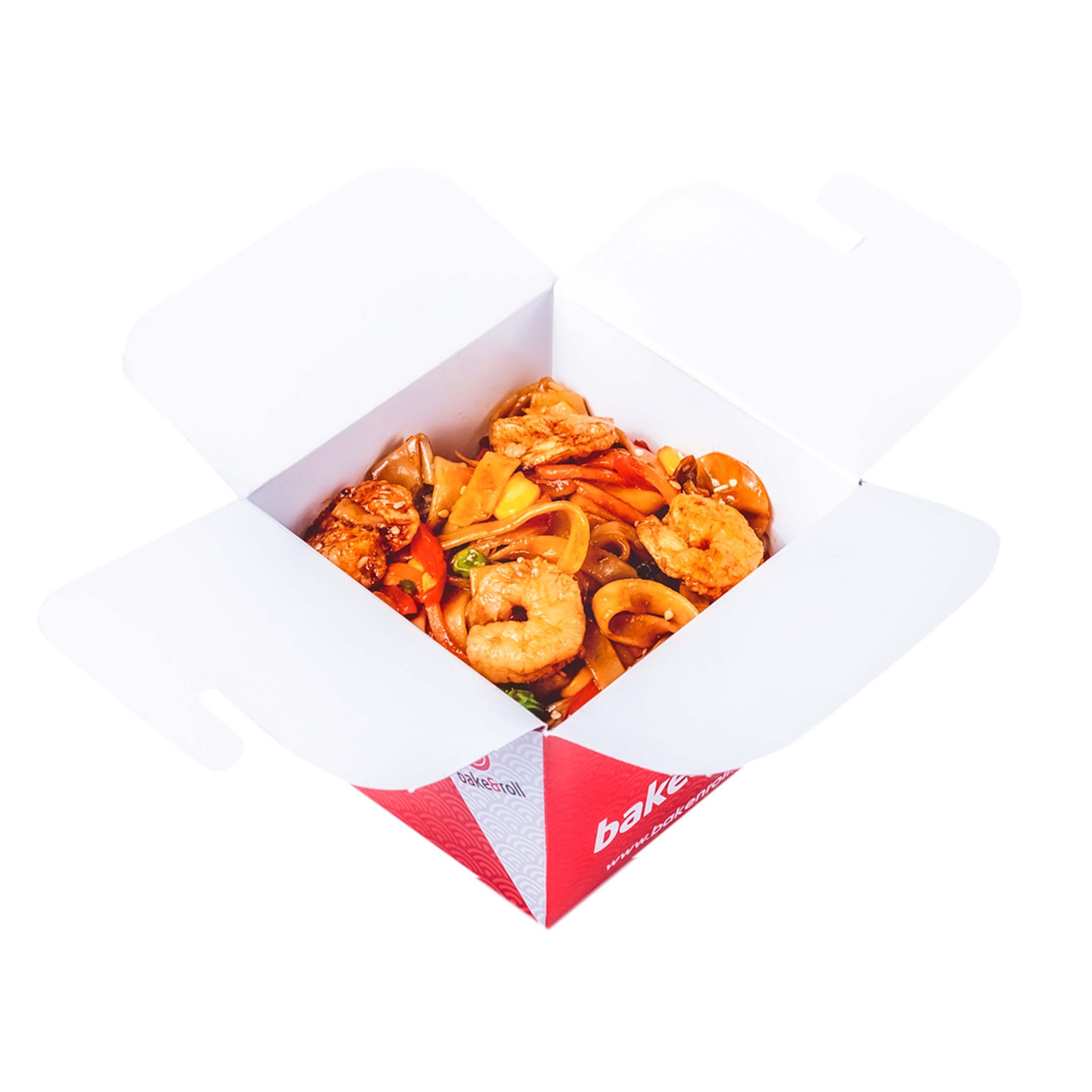 Dəniz Məhsullarından Noodles