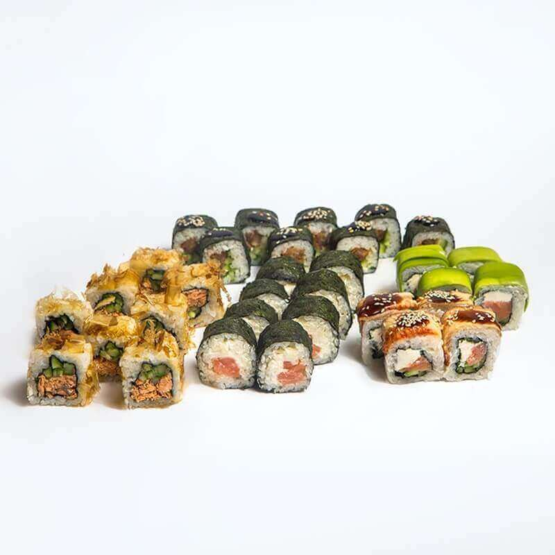 Sushi set Xaruki