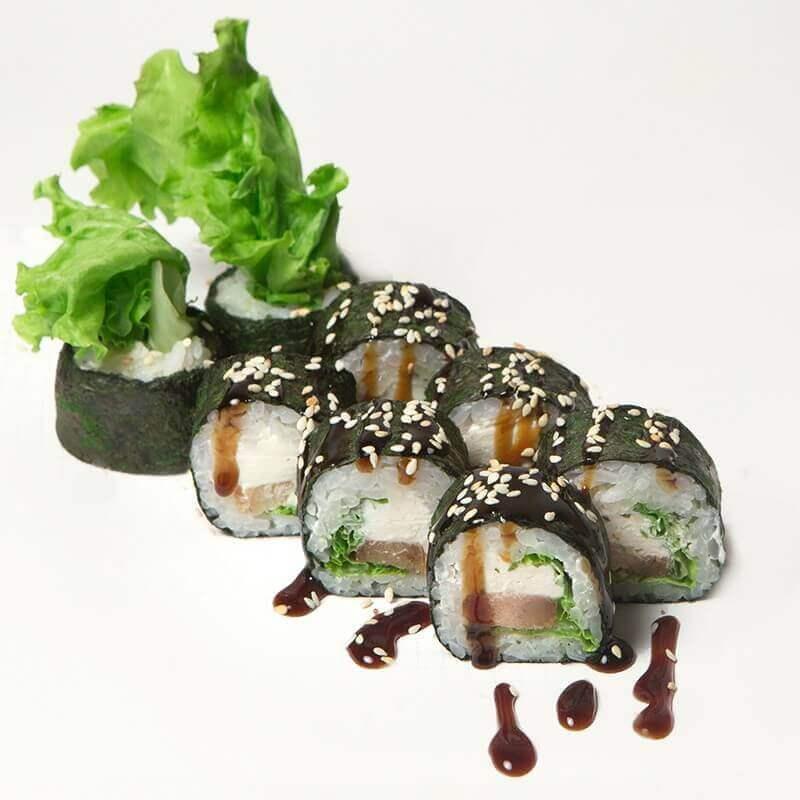 Tanuki roll