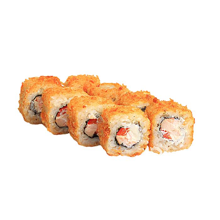 суши горячие с курицей
